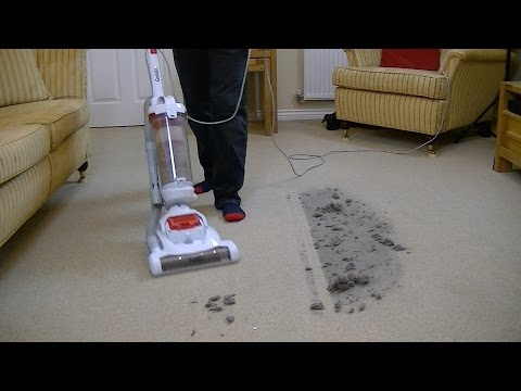Goblin Bagless Upright Vacuum Cleaner Demonstration & Review