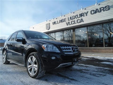 2009 Mercedes-Benz ML550 [4Matic] in review - Village Luxury Cars Toronto