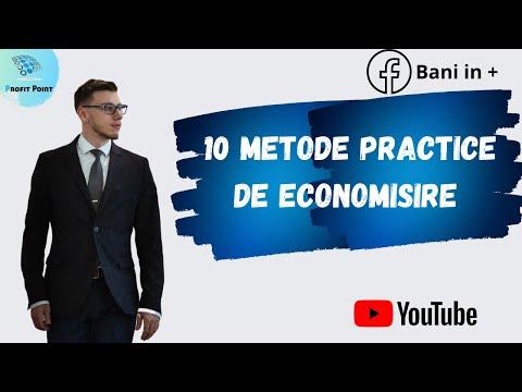 10 Metode Practice de Economisire - Educație Financiară pentru începători
