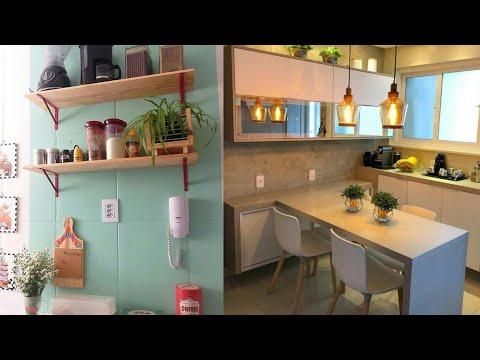 80 ideias p/ cozinha pequena