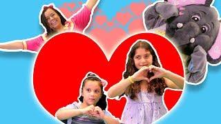 "Loly & Falfool - ""Baba ya ahla baba"" dance  | ""لولي وفلفول - رقصة ""بابا يا أحلى بابا"