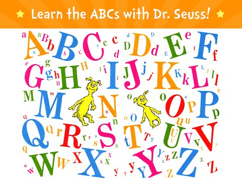 Screenshot of video: Dr Seuss does ABC