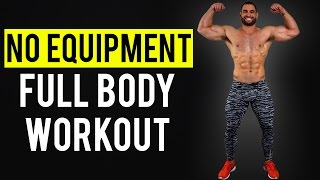 NO EQUIPMENT Full Body Workout At Home by BarbarianBody