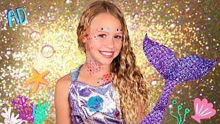 Magical Mermaid Makeup And Costume With Makeup Maker!