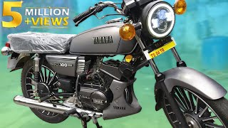 Yamaha Rx 💯 Gun metal (Grey) special modified Edition #GENIUNE. 🔥🔥🔥
