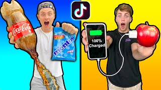 We Tested VIRAL TikTok LIFE HACKS!! (PART 2)