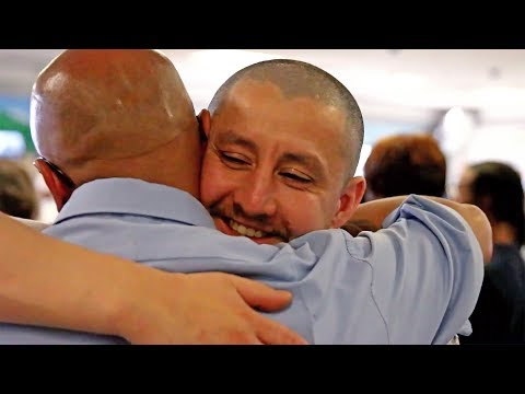 Inside CDCR: Mentor reunites with his twin brother after nine years ...