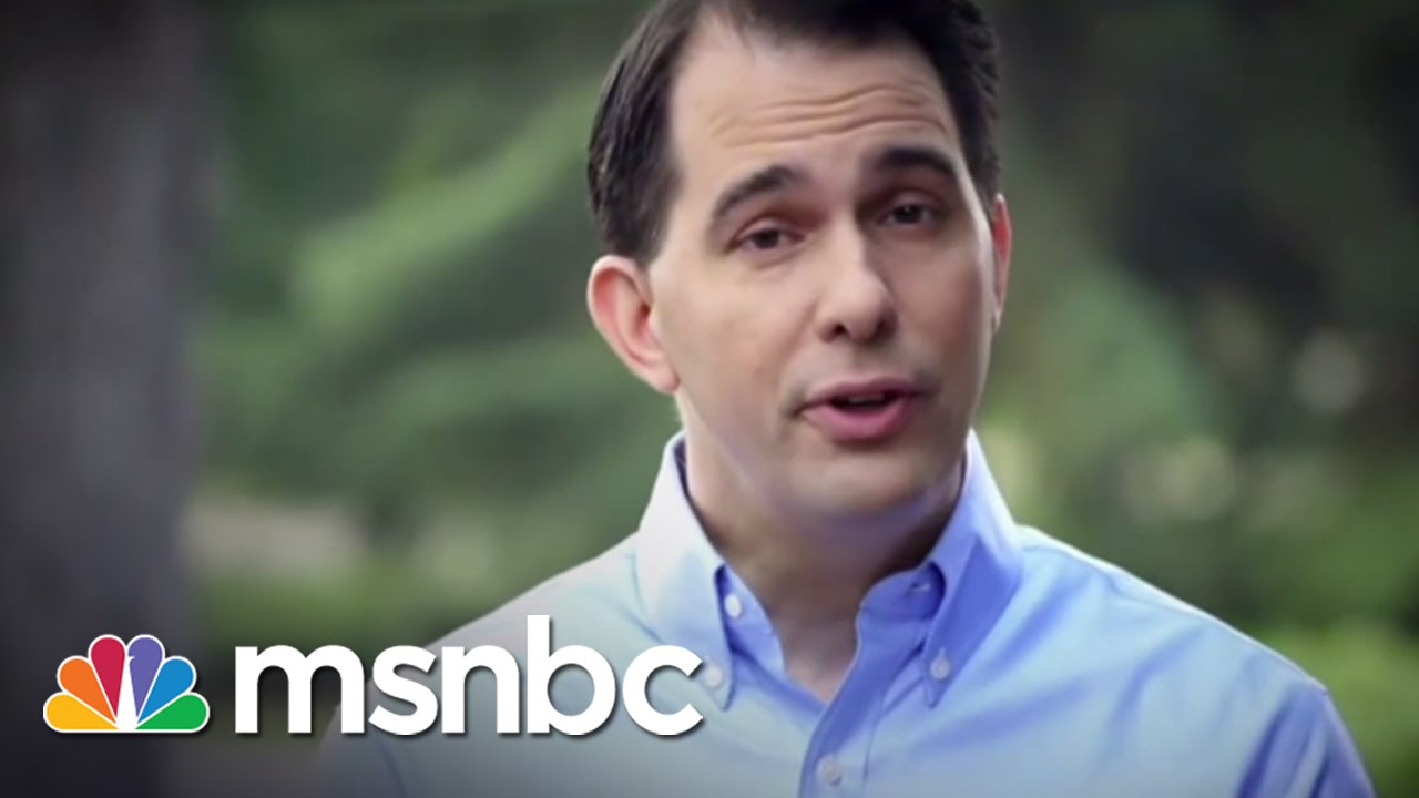 Scott Walker Releases 2016 Campaign Video | msnbc thumbnail