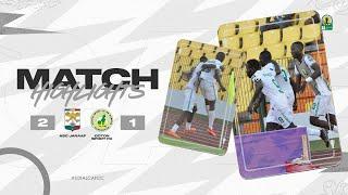 CAF CC | Quart de finale Retour : ASC Jaraaf 2 – 1 Coton Sport FC