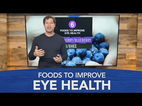 Video Foods to Improve Eye Health