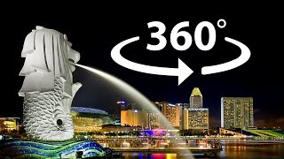 Singapore Culture and Customs 360 VR Video