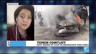 Fatima Abo Alasrar sheds light on south Yemen clashes