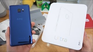 HTC U Ultra Unboxing and First Impressions!
