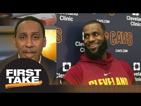 Stephen A. Smith sides with LeBron James calling proposed playoff format 'wack'   First Take   ESPN