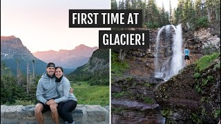 First time at Glacier National Park: Going to the Sun Road, St. Mary Falls, Lake McDonald, & more!