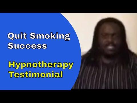 Quit Smoking Hypnotherapy Testimonial
