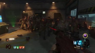 Black ops 3 Zombies Ascension No Jugg round 50 attempt לייב זומבים
