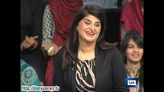 Dunya News -- Mazaaq Raat - Celebrity Interviews