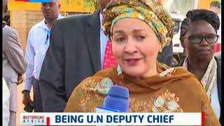 Being UN Deputy Chief, Amina Mohammed | Bottomline Africa
