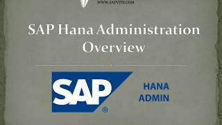 SAP Hana Administration Tutorial | sap Hana Administration Guide