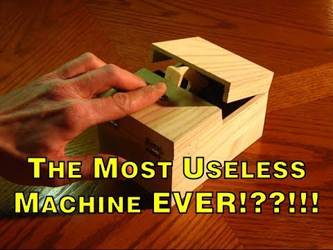 This Is The World's Most Useless Machine EVER!