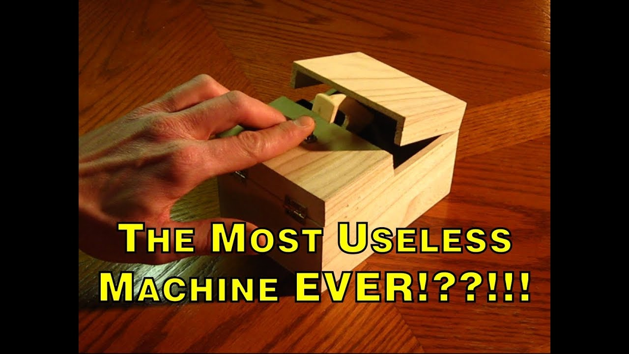 How To Build The World's Most Useless Machine