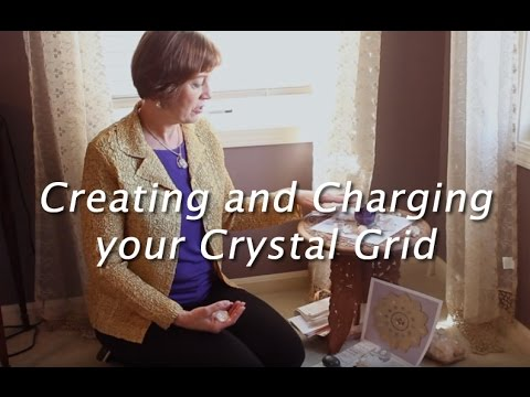 How to Create and Charge Your Reiki Crystal Grid - YouTube