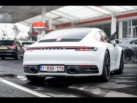 Cars Leaving Nürburgring Tankstelle - Drift Action,Flames,Revs,Accerlations!!  24.03.2019