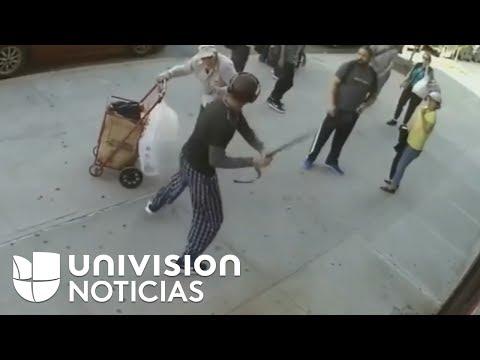 Gran repudio causa la paliza de un joven a un anciano en una calle de Nueva York