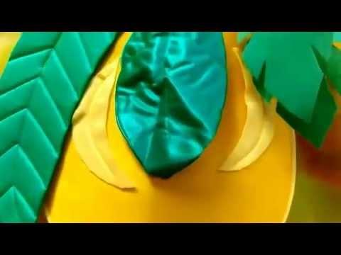 Disfraz de limón para bebé