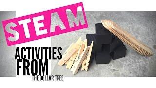 Teacher Lauren - STEAM Activities from the Dollar Tree