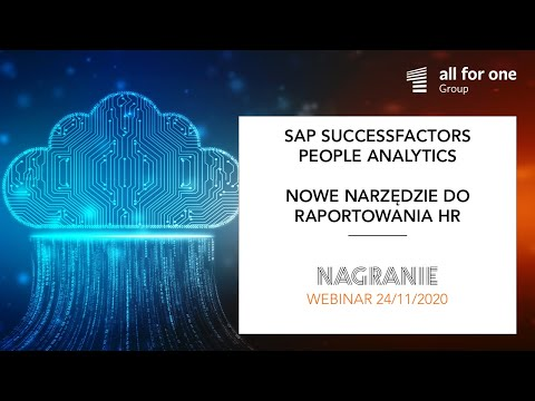 Nowe narzędzie do raportowania HR – SAP SuccessFactors People Analytics