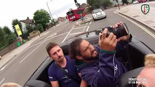 London Irish London Double Header Carpool Karaoke Part 2