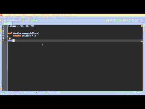 Python Programming Tutorial – 50 – map