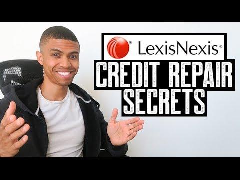 LEXIS NEXIS CREDIT REPAIR SECRETS || REMOVE BANKRUPTCY