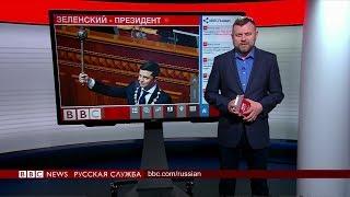 ТВ-новости: Зеленский стал президентом