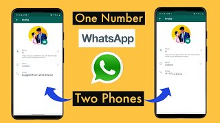 How to run same WhatsApp account on two mobile at same time