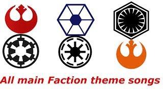 Star Wars. All main Faction themes.