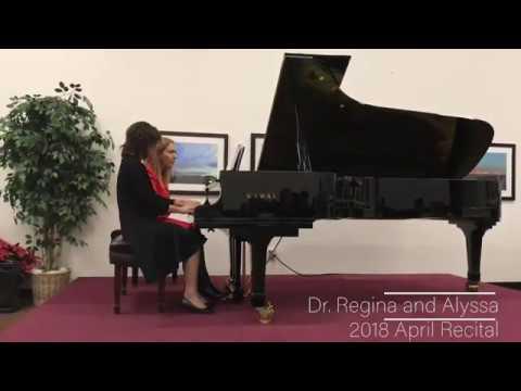 Hungarian Dance No. 5 by Brahms - Dr. Regina Gurgenyan and Alyssa Lee