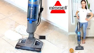 Bissell Symphony Vacuum And Steam Mop All In One || Review / Demo & How To Use