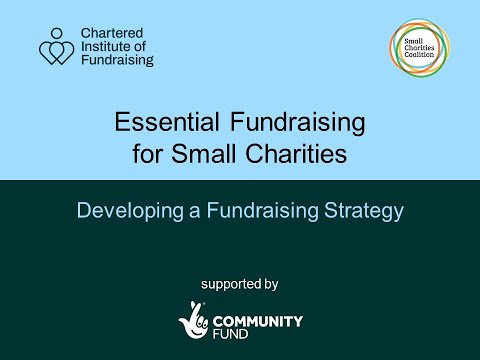 , title : 'Developing a Fundraising Strategy