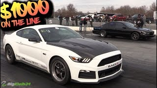 Panda Mustang (LS Killer) Head to Head vs Turbo LS Impala (Panda Killer)!