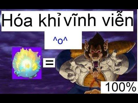 Ngoc rong online (Dragon boy)-Thủ thuật cho ae xayda-Cách hóa khỉ vĩnh viễn 99,99% ae nro chưa biết
