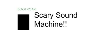 Scary Sound Machine from Target Toy review|ToyGurl27