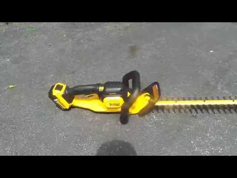 Dewalt 20v Max Hedge Trimmer Review Thick Brush Tools