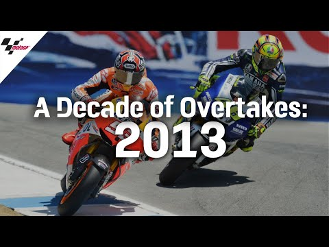 MotoGP 2013年のMotoGP ベストオーバーテイクショー動画