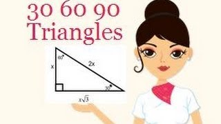 Special Rules For 30-60-90 Triangles