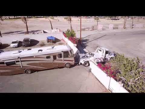 medium-duty-pulling-out-with-wrecked-rv-dji-mavic-pro