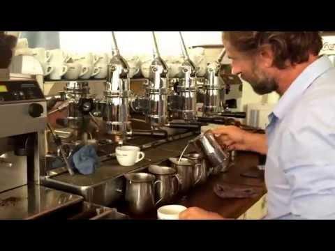 Latte Art Training - YouTube