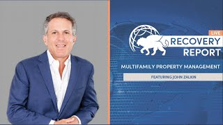 Recovery Report Live With Guest John Zalkin Ep.36